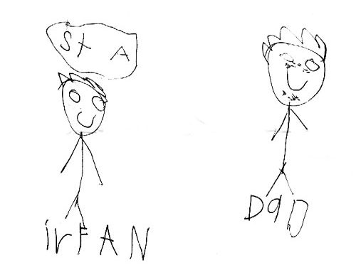 Irfan and dad