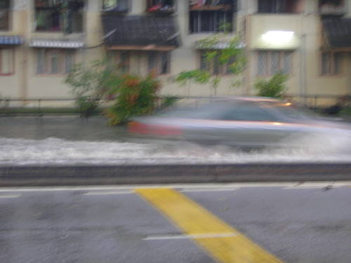 The car is a speedboat