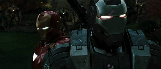 Stark and Rhodey