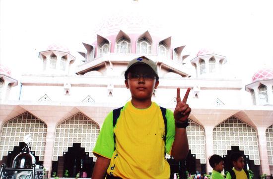 Irfan at Putrajaya