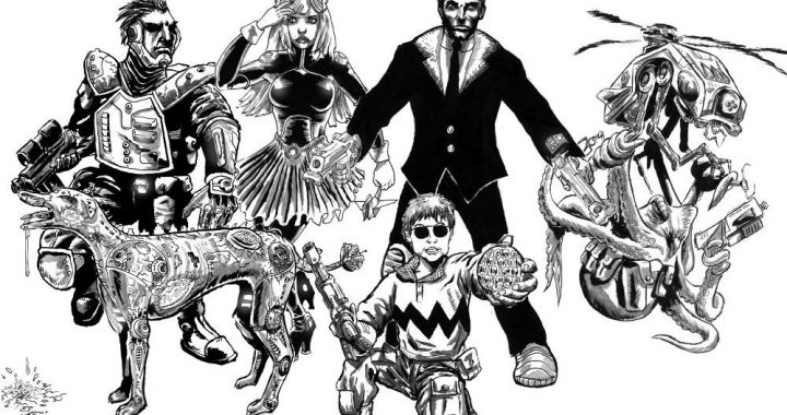 The crew of the Fastball Special