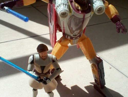 """My lightsabre is bigger than yours"" ""Oh shut up"""