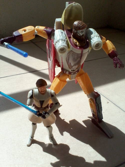 """""""My lightsabre is bigger than yours"""" """"Oh shut up"""""""