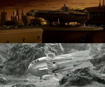 The CGI Falcon below looks realistic