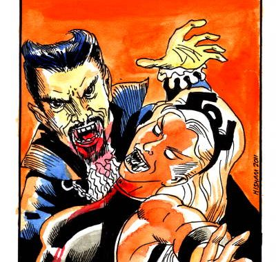 X-Men meets Dracula (THE Dracula)