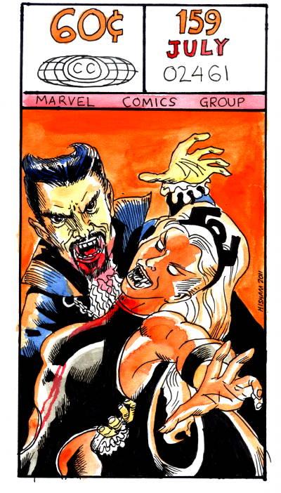 X-Men meets Dracula (THE Dracula)