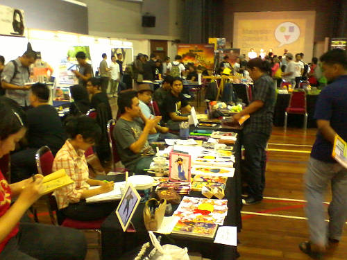 MGCCon 2012 Artists' Alley