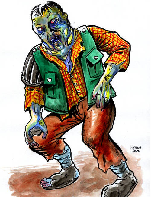 Gasbag Zombie