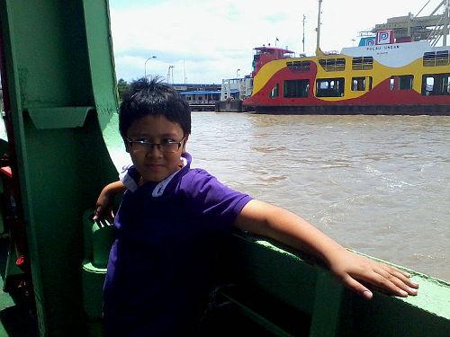 Irfan is a ferry veteran now