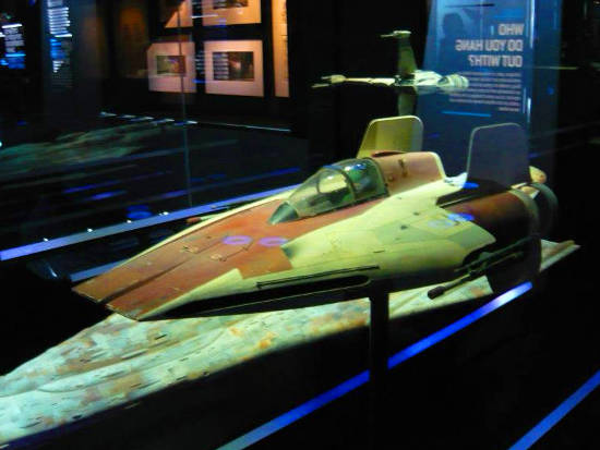 Dodonna-Blissex A-Wing fighter