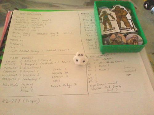 That's my stash of custom Star Wars RPG paperminis