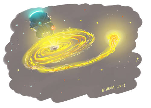 What does God need with a black hole