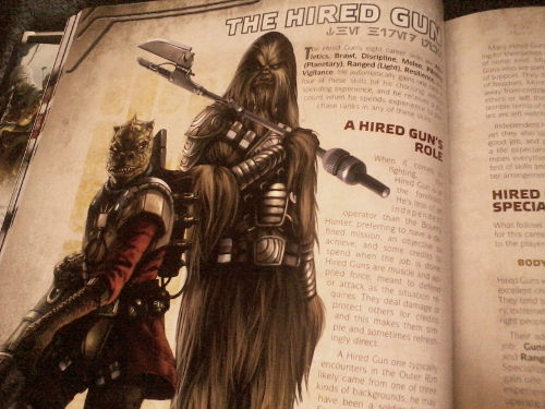 :This one is new, like Gallandro in Han Solo's Revenge and Han Solo and the Lost Legacy