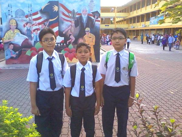 Irfan, Asyraaf & Khairin