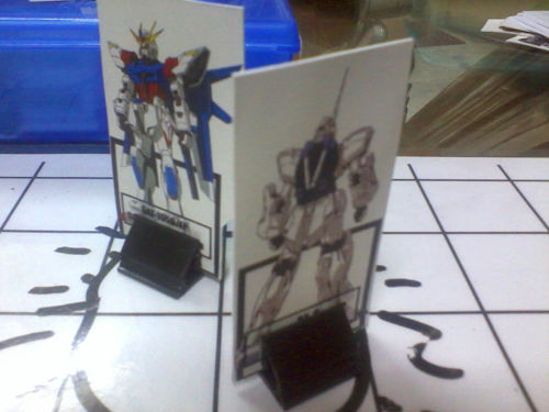 Duelling Mobile Suits