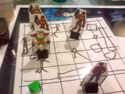Battle with droids