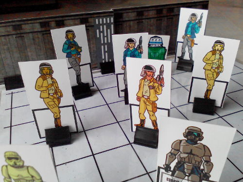 Now you can have running firefights with Rebel paperminis