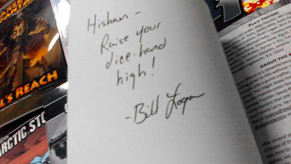 This autograph will be worth mllions! MILLIONS!