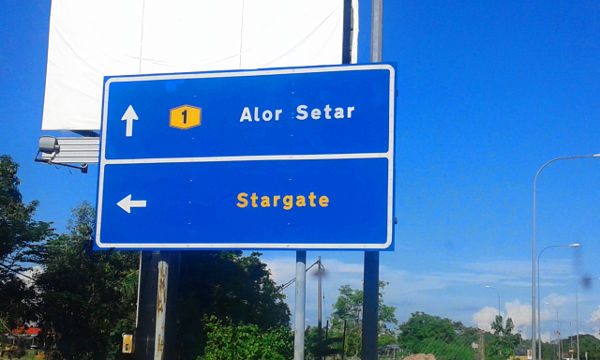 Passing by Alor Setar