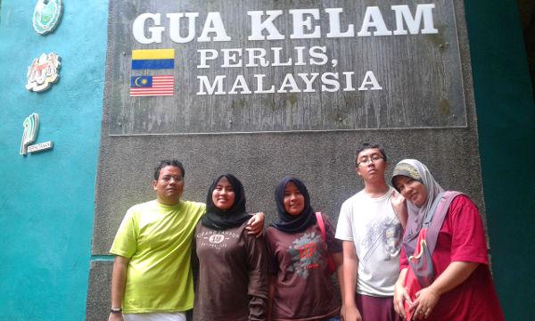 Gua Kelam team