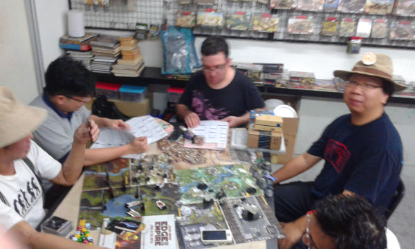 Wira Games and Hobby is a great place to run games