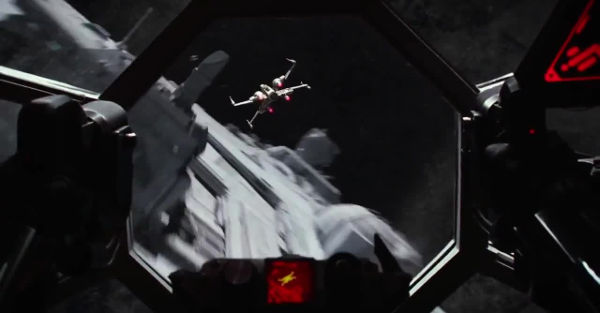 Dogfight in space
