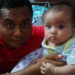 Rania with uncle