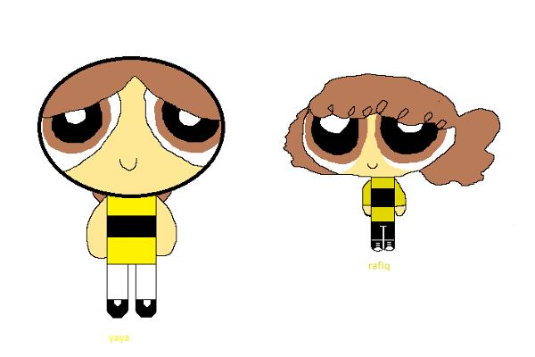 Self-drawn Siblings