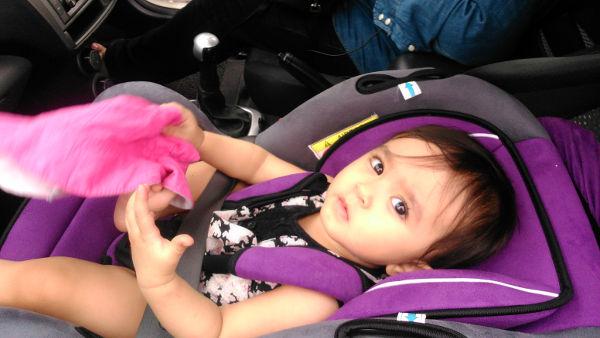 Baby in Zero-Zero Ejection Seat