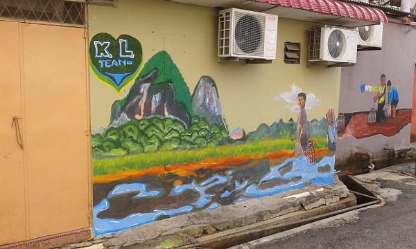 Finally, the artwork by the Kuala Lumpur participants. I wish I was able to watch the murals being painted during the event