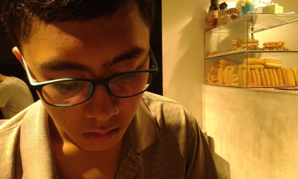 Irfan and bread rolls
