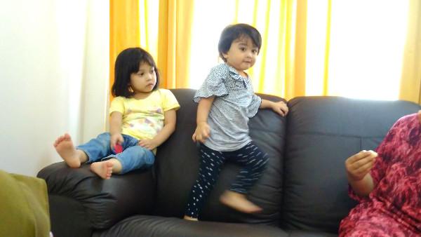 Sofa jumping