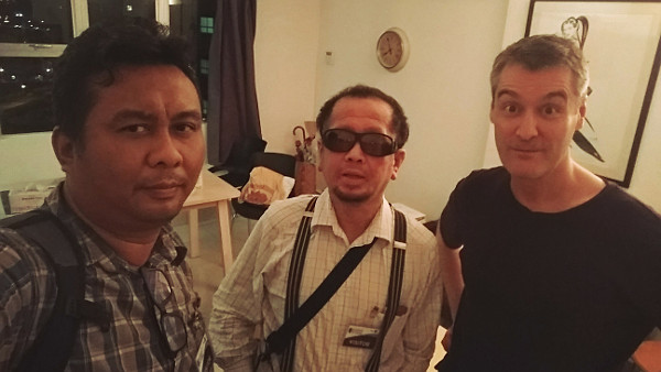 Ivan, Phil and I