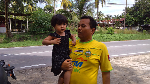 Nia and Daddy