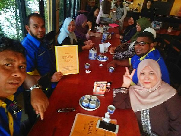 Breakfast at the same halal restaurant