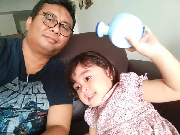 Ania and Ayah Ngah