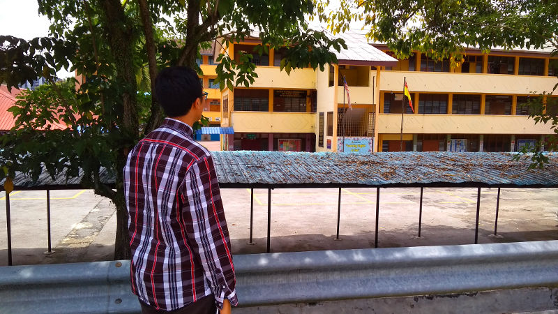 Irfan locates his old classrooms