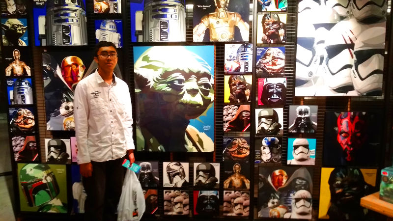 Irfan gets a load of Yoda