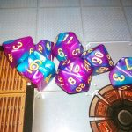 Purple-Blue dice