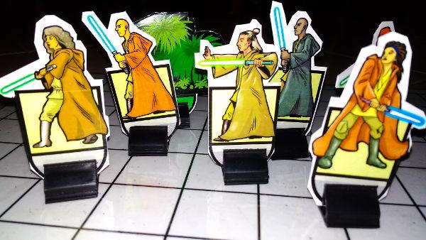 Human Jedi Knights