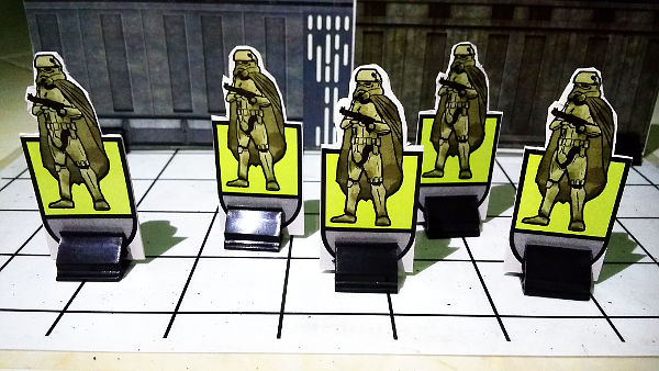 Mudtroopers facing front
