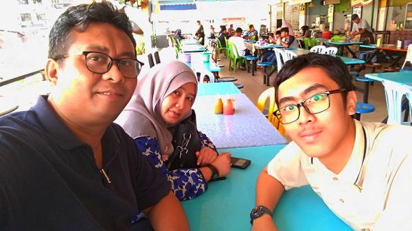 Sabak Bernam lunch