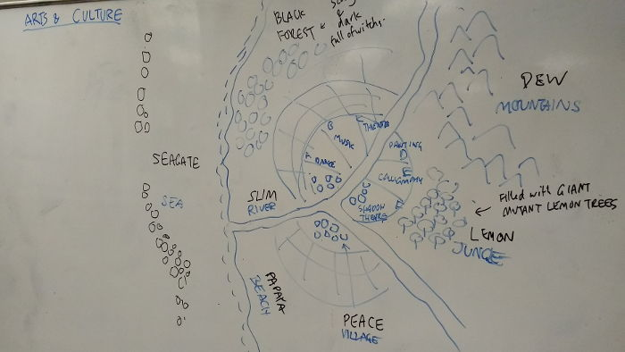 Peace Village and its environs