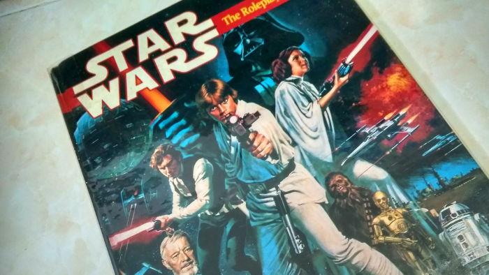 Star Wars RPG rulebook