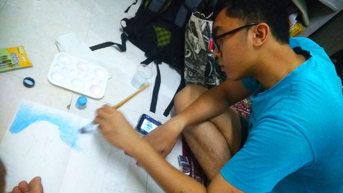 Trainee artist