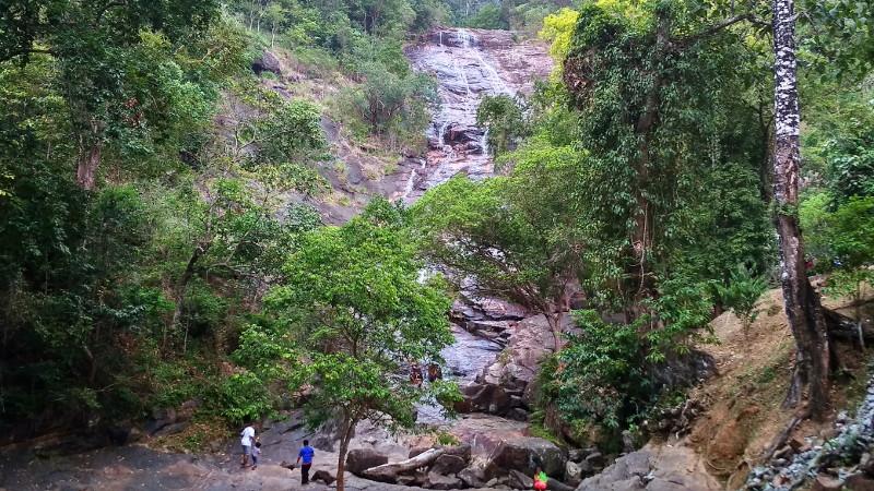 The Seri Perigi Falls