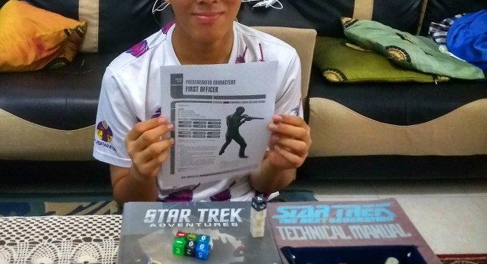 Irfan is now a Bajoran