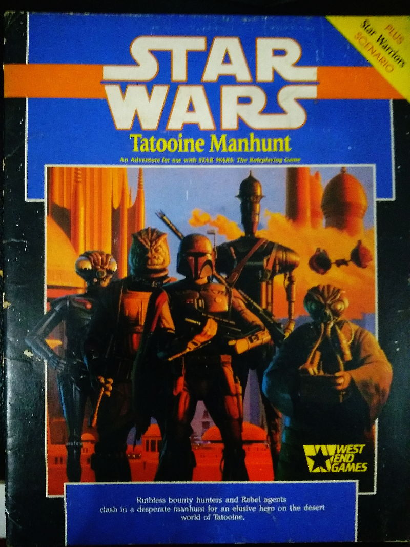 Tatooine Manhunt cover