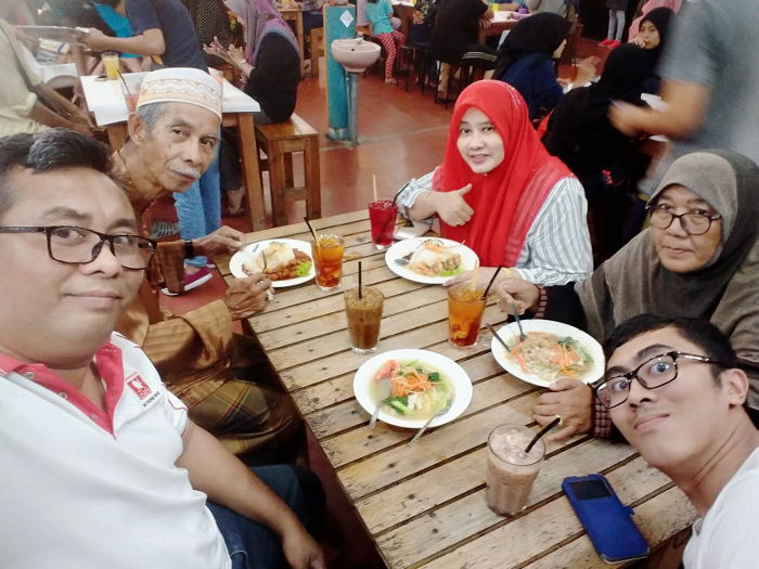 Dinner with Atok and Opah