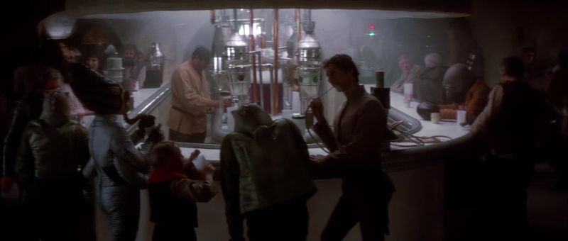 Inside Chalmun's Cantina